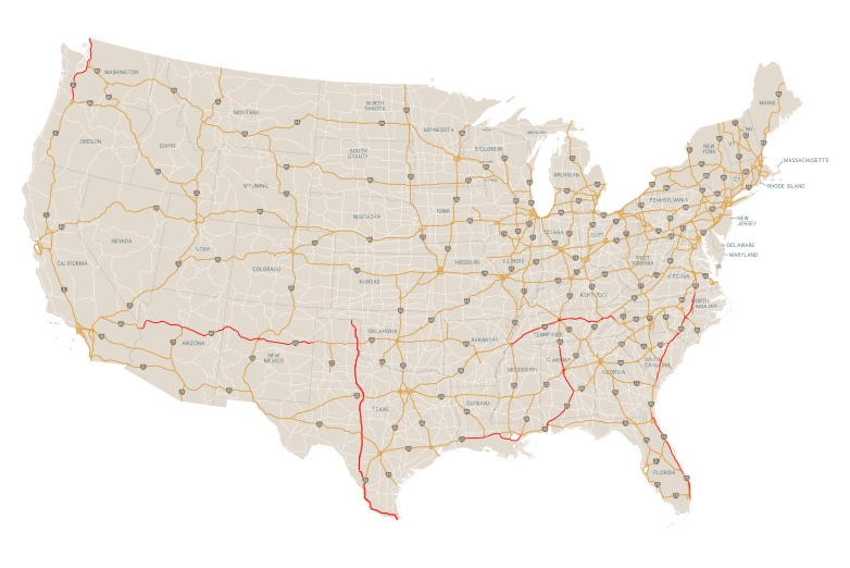 The Top 10 Most Dangerous Highways in the U.S.